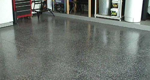 htm painting painted epoxy floor garage